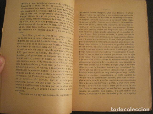 Libros antiguos: ASTRONOMIA RACIONAL Y ASTRONOMIA IRRACIONAL-ENRIQUE SANCHEZ BARCELONA AÑO 1901 -VER FOTOS-(V-10.071) - Foto 3 - 80766002