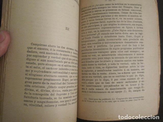 Libros antiguos: ASTRONOMIA RACIONAL Y ASTRONOMIA IRRACIONAL-ENRIQUE SANCHEZ BARCELONA AÑO 1901 -VER FOTOS-(V-10.071) - Foto 6 - 80766002