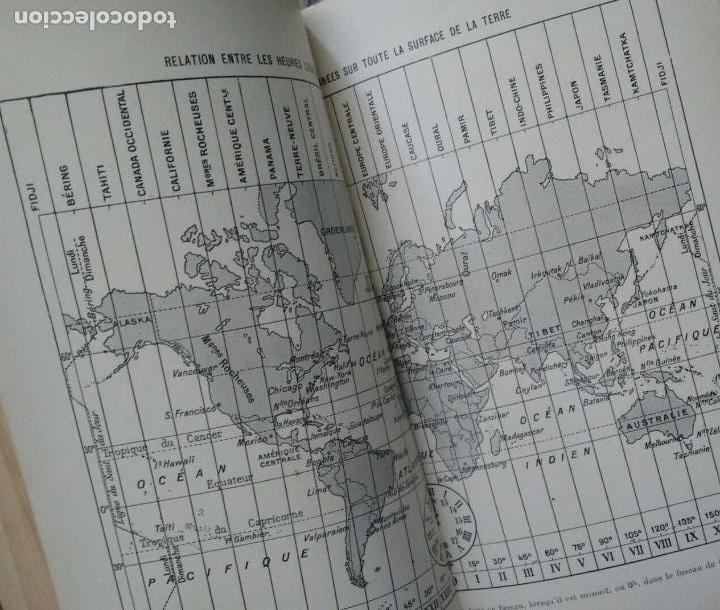 Libros antiguos: COURS DE COSMOGRAPHIE (1927. ASTRONOMÍA. MATEMÁTICAS. FÍSICA. TEXTO EN FRANCÉS) Con Carta Celeste. - Foto 5 - 83824580
