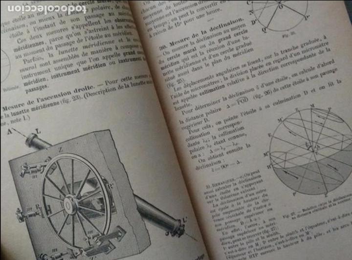 Libros antiguos: COURS DE COSMOGRAPHIE (1927. ASTRONOMÍA. MATEMÁTICAS. FÍSICA. TEXTO EN FRANCÉS) Con Carta Celeste. - Foto 6 - 83824580