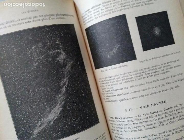 Libros antiguos: COURS DE COSMOGRAPHIE (1927. ASTRONOMÍA. MATEMÁTICAS. FÍSICA. TEXTO EN FRANCÉS) Con Carta Celeste. - Foto 7 - 83824580