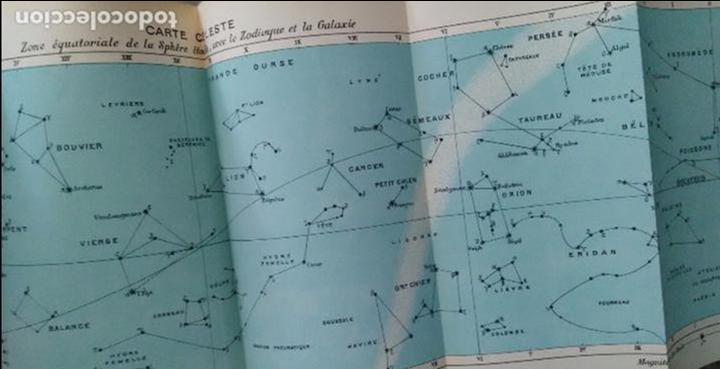 Libros antiguos: COURS DE COSMOGRAPHIE (1927. ASTRONOMÍA. MATEMÁTICAS. FÍSICA. TEXTO EN FRANCÉS) Con Carta Celeste. - Foto 8 - 83824580
