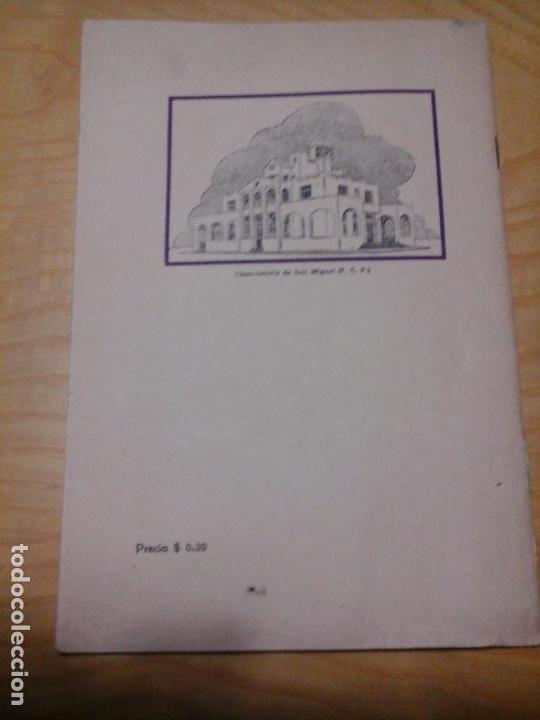 Libros antiguos: LA MATERIA INTERESTELAR, IGNACIO PUIG, S. J., OBSERVATORIO SAN MIGUEL. 1937 TALLERES MOLY LASSERRE - Foto 5 - 87197580