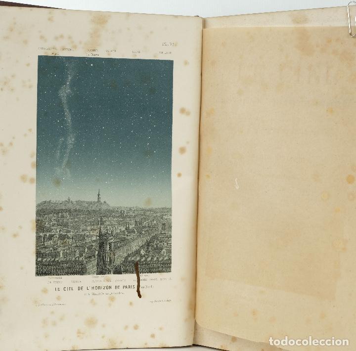 Libros antiguos: Le ciel, notions d'astronomie-Amédée Guillemin-Librairie de L.Hachette et Cie, Paris 1864 - Foto 9 - 89433652