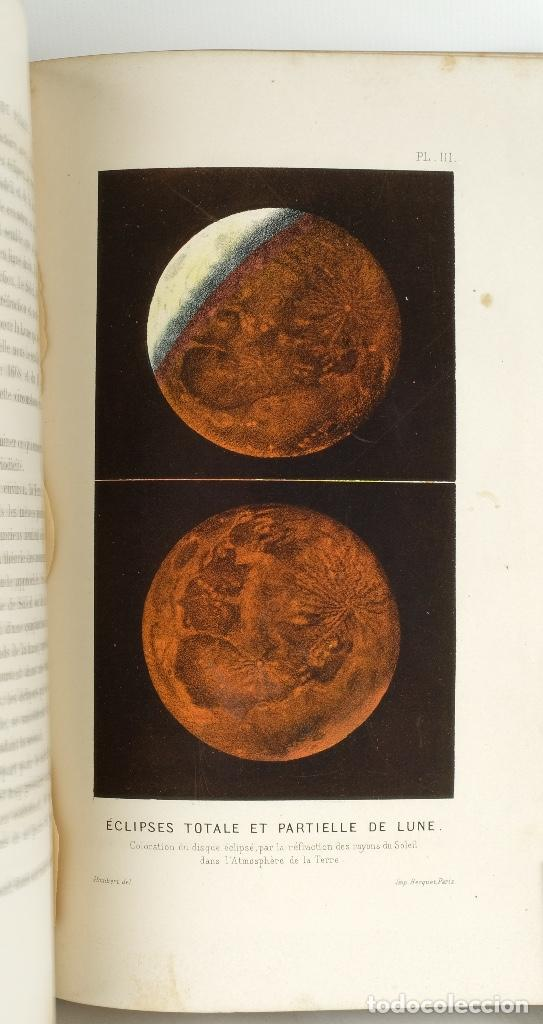 Libros antiguos: Le ciel, notions d'astronomie-Amédée Guillemin-Librairie de L.Hachette et Cie, Paris 1864 - Foto 12 - 89433652
