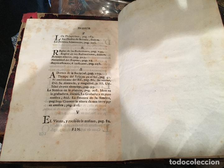 Libros antiguos: ABAD M. PLUCHE - LIBRO DE ASTRONOMIA , MADRID 1786 , IMP. D. PEDRO MARIN, ILUSTRADO - Foto 14 - 26601937