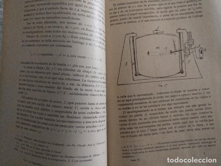 Libros antiguos: CONGRESO DE SEVILLA TOMO IV, ASTRONOMÍA Y FÍSICA DEL GLOBO - Foto 5 - 52953783