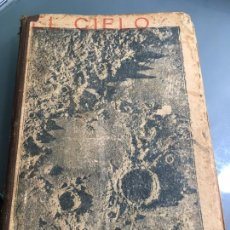 Libros antiguos: EL CIELO , POR DON VICTORIANO F.ASCARZA - NOCIONES DE ASTRONOMIA POPULAR, 2ª EDICION. Lote 97880403