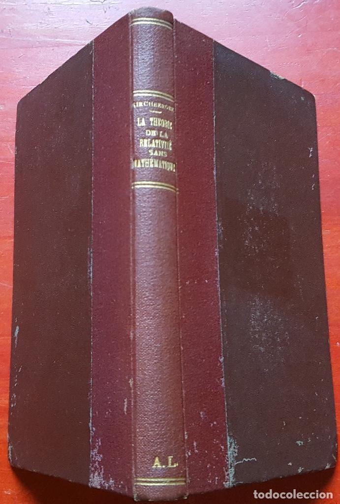 Libros antiguos: Theorie de la relativité - Foto 2 - 97940031