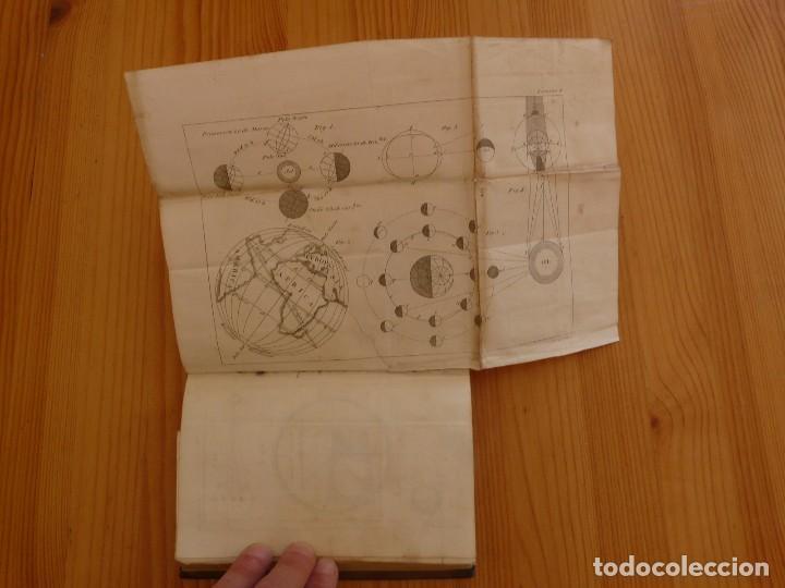 Libros antiguos: Astronomia para todos en doce lecciones año 1829 con desplegables - Foto 5 - 98495331