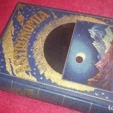 Libros antiguos: ASTRONOMÍA - BIBLIOTECA HISPANIA - ENCUADERNACIÓN LUJO. Lote 98590799