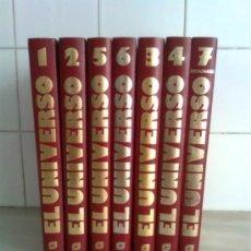 Libros antiguos: EL UNIVERSO: ENCICLOPEDIA SARPE DE LA ASTRONOMIA. COMPLETA, EN SIETE TOMOS. Lote 98593603