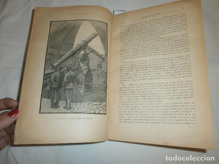 Libros antiguos: LA HISTORIA DE LOS CIELOS- TRATADO POPULAR DE ASTRONOMÍA POR ROBERTO STAWELL BALL - Foto 4 - 99782979