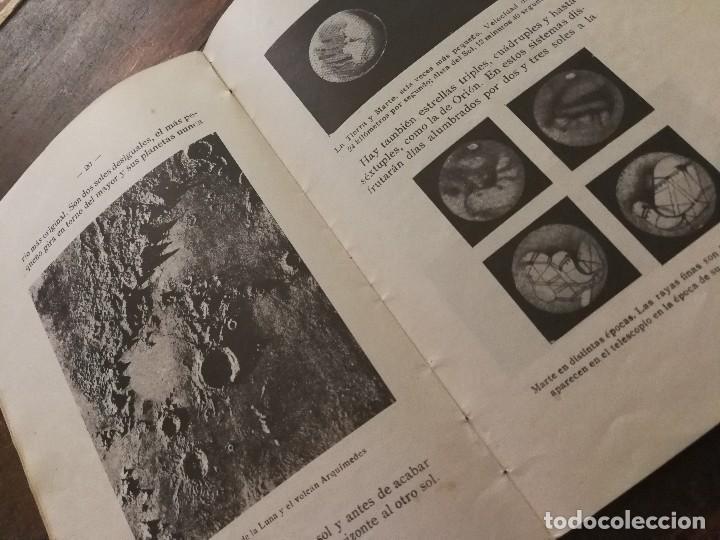 Libros antiguos: LAS DIVERSIONES DEL CIELO - S.S.L PBRO. MADRID, 1932.ASTRONOMÍA. - Foto 6 - 100980063