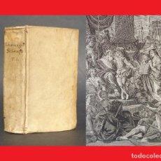 Libros antiguos: 1734 LA SCIENZA DELLE PERSONE DI CORTE, DI SPADA, E DI TOGA - PERGAMINO ASTRONOMIA - GEOGRAFIA - MAP. Lote 101073115