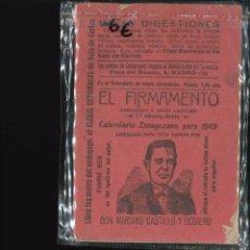 Libros antiguos: EL FIRMAMENTO CALENDARIO ZARAGOZANO 1948. Lote 101840587