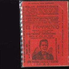 Libros antiguos: EL FIRMAMENTO CALENDARIO ZARAGOZANO 195. Lote 101849219