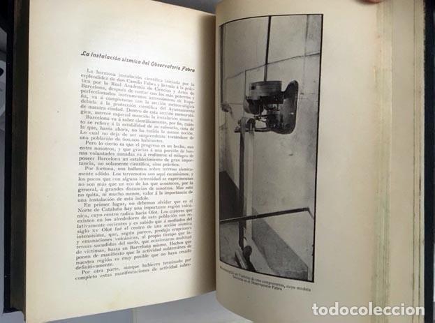 Libros antiguos: Astronomía y Ciencia General (Comas 1907) Astronomía, Sismología, Ciencia, Crisis de la Materia, Etc - Foto 5 - 104044327