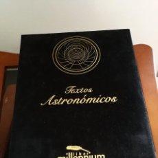 Libros antiguos: FACSÍMIL TEXTOS ASTRONÓMICOS MILLENNIUMLIBER. Lote 104441423