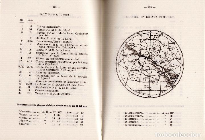 Libros antiguos: ANUARIO DEL OBSERVATORIO ASTRONÓMICO DE MADRID PARA 1980 - Foto 5 - 104553027