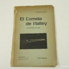 Libros antiguos: EL COMETA DE HALLEY, EDICIÓN ILUSTRADA CON GRABADOS, J. COMAS SOLÁ, BARCELONA. 14X21,5CM. Lote 105790575