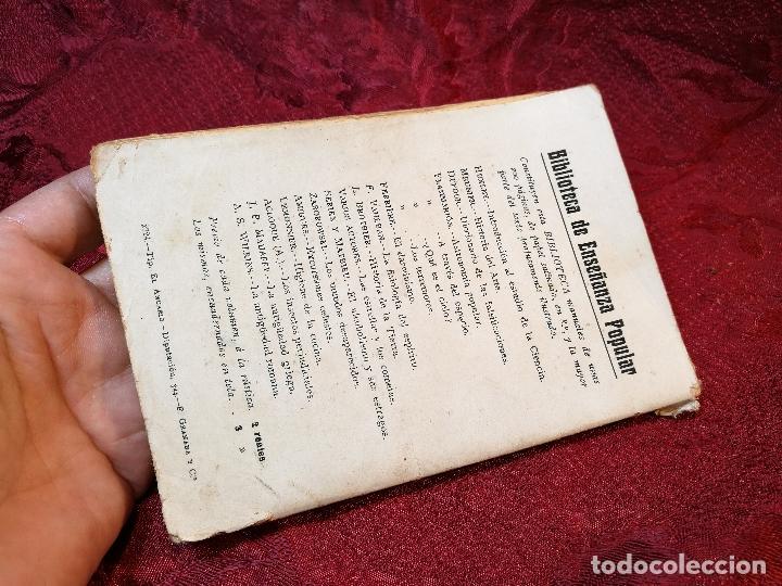 Libros antiguos: antiguo libro astronomia popular . c. Flammarion , tomo i . - Foto 4 - 108750443
