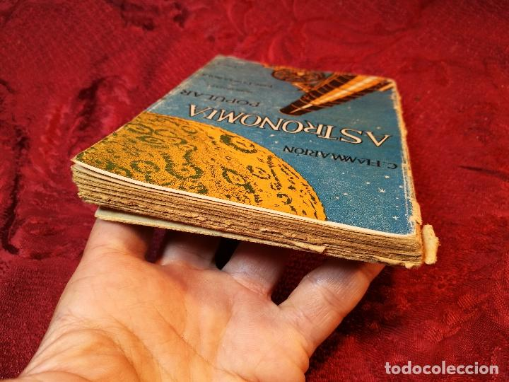 Libros antiguos: antiguo libro astronomia popular . c. Flammarion , tomo i . - Foto 7 - 108750443
