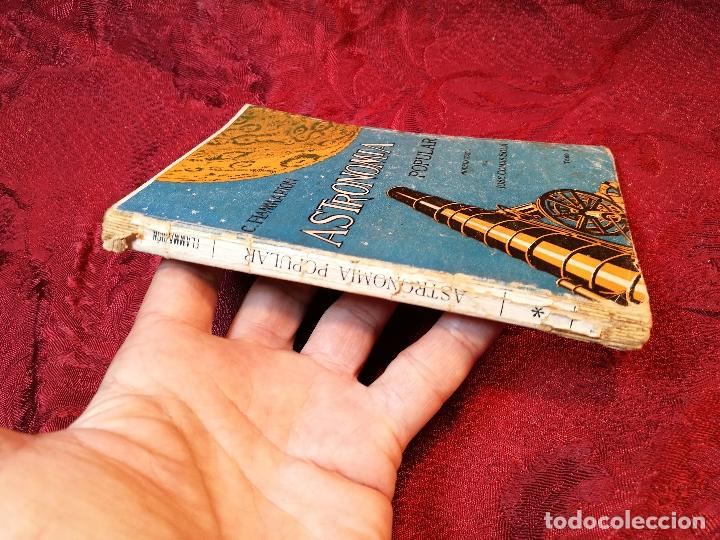Libros antiguos: antiguo libro astronomia popular . c. Flammarion , tomo i . - Foto 8 - 108750443