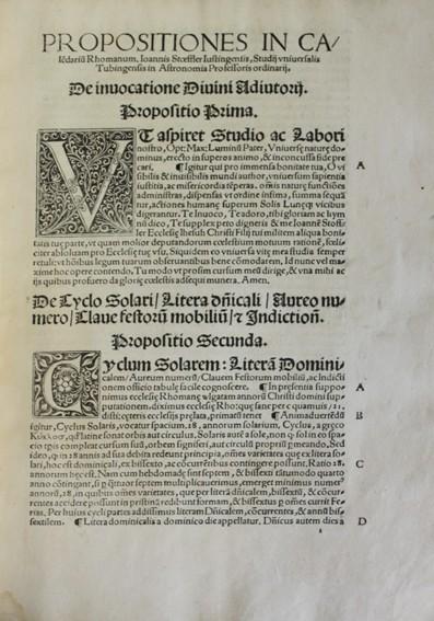 Libros antiguos: CALENDARIUM ROMANUM MAGNUM, CAESAREAE MAIESTATI DICATUM. - STÖFFLER, Johann. 1518. - Foto 4 - 109024111