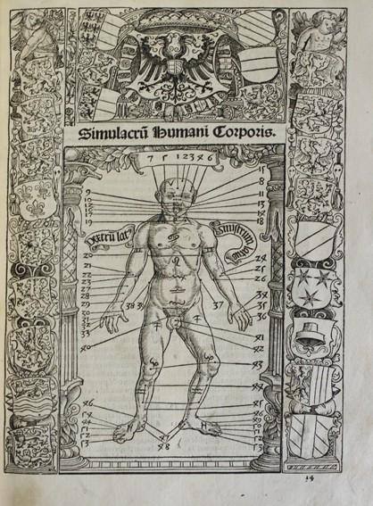 CALENDARIUM ROMANUM MAGNUM, CAESAREAE MAIESTATI DICATUM. - STÖFFLER, JOHANN. 1518. (Libros Antiguos, Raros y Curiosos - Ciencias, Manuales y Oficios - Astronomía)