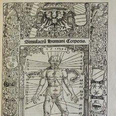 Libros antiguos: CALENDARIUM ROMANUM MAGNUM, CAESAREAE MAIESTATI DICATUM. - STÖFFLER, JOHANN. 1518.. Lote 109024111