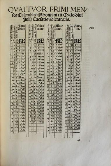 Libros antiguos: CALENDARIUM ROMANUM MAGNUM, CAESAREAE MAIESTATI DICATUM. - STÖFFLER, Johann. 1518. - Foto 5 - 109024111