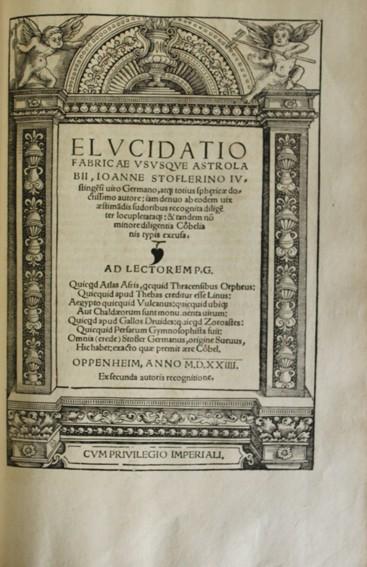 Libros antiguos: CALENDARIUM ROMANUM MAGNUM, CAESAREAE MAIESTATI DICATUM. - STÖFFLER, Johann. 1518. - Foto 7 - 109024111
