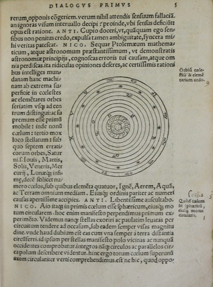 Libros antiguos: COSMOGRAPHIA. - MAUROLICO, Francesco. 1543. Con grabados de figuras geométricas y astronómicas. - Foto 3 - 109024332