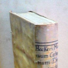 Libros antiguos: MOTUUM CAELESTIUM EPHEMERIDES AB ANNO AE. V. M DC LXVI AD M DC LXXX. EX OBSERVATIONIBUS CORRECTIS NO. Lote 109022871