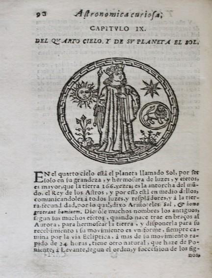 Libros antiguos: ASTRONOMICA CURIOSA, y descripcion del mundo superior y inferior. Contiene la especulacion de los o - Foto 3 - 109022258