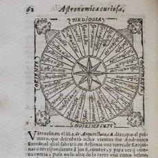 Libros antiguos: ASTRONOMICA CURIOSA, Y DESCRIPCION DEL MUNDO SUPERIOR Y INFERIOR. CONTIENE LA ESPECULACION DE LOS O. Lote 109022258