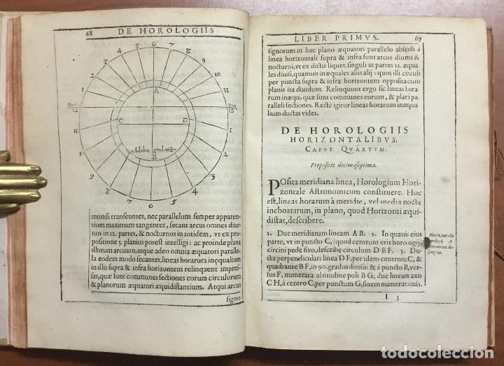 Libros antiguos: VOELLO, Joanne. DE HOROLOGIIS SCIOTHERICIS LIBRI TRES. RELOJES DE SOL ASTRONOMIA 1608 - Foto 3 - 110342419