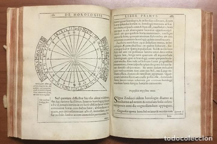 Libros antiguos: VOELLO, Joanne. DE HOROLOGIIS SCIOTHERICIS LIBRI TRES. RELOJES DE SOL ASTRONOMIA 1608 - Foto 5 - 110342419