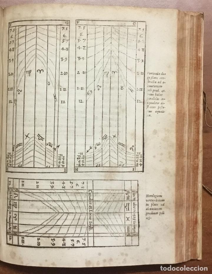 Libros antiguos: VOELLO, Joanne. DE HOROLOGIIS SCIOTHERICIS LIBRI TRES. RELOJES DE SOL ASTRONOMIA 1608 - Foto 9 - 110342419