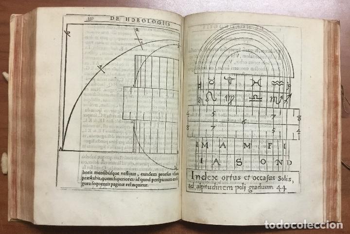 Libros antiguos: VOELLO, Joanne. DE HOROLOGIIS SCIOTHERICIS LIBRI TRES. RELOJES DE SOL ASTRONOMIA 1608 - Foto 10 - 110342419