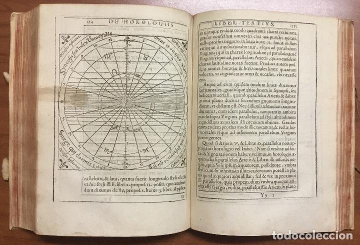 Libros antiguos: VOELLO, Joanne. DE HOROLOGIIS SCIOTHERICIS LIBRI TRES. RELOJES DE SOL ASTRONOMIA 1608 - Foto 12 - 110342419
