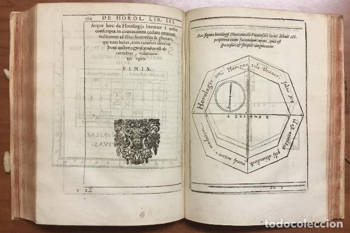 Libros antiguos: VOELLO, Joanne. DE HOROLOGIIS SCIOTHERICIS LIBRI TRES. RELOJES DE SOL ASTRONOMIA 1608 - Foto 15 - 110342419