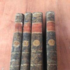 Libros antiguos: VIAJE ESTATICO AL MUNDO PLANETARIO… PARA DEMOSTRAR LA EXISTENCIA DE DIOS 1793, 4 VOL. LORENZO HERVAS. Lote 100246903
