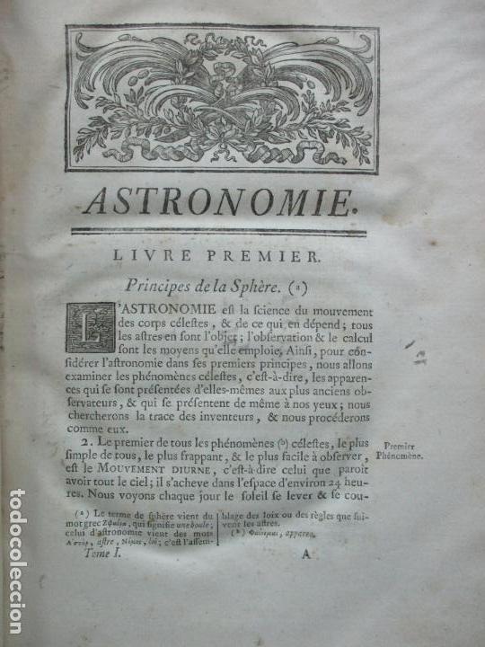Libros antiguos: ASTRONOMIE. - LA LANDE, Jerôme de. - Foto 4 - 109021662