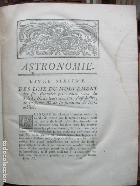 Libros antiguos: ASTRONOMIE. - LA LANDE, Jerôme de. - Foto 8 - 109021662