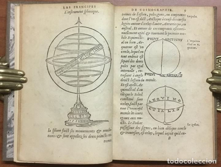 Libros antiguos: LES PRINCIPES D'ASTRONOMIE & COSMOGRAPHIE AVEC L'USAGE DU GLOBE. - GEMMA FRISIUS, Rainer. - Foto 5 - 109022603