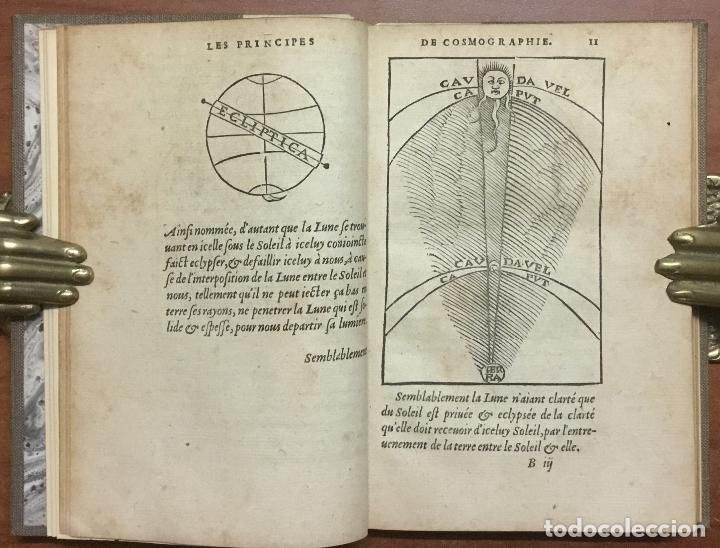 Libros antiguos: LES PRINCIPES D'ASTRONOMIE & COSMOGRAPHIE AVEC L'USAGE DU GLOBE. - GEMMA FRISIUS, Rainer. - Foto 6 - 109022603