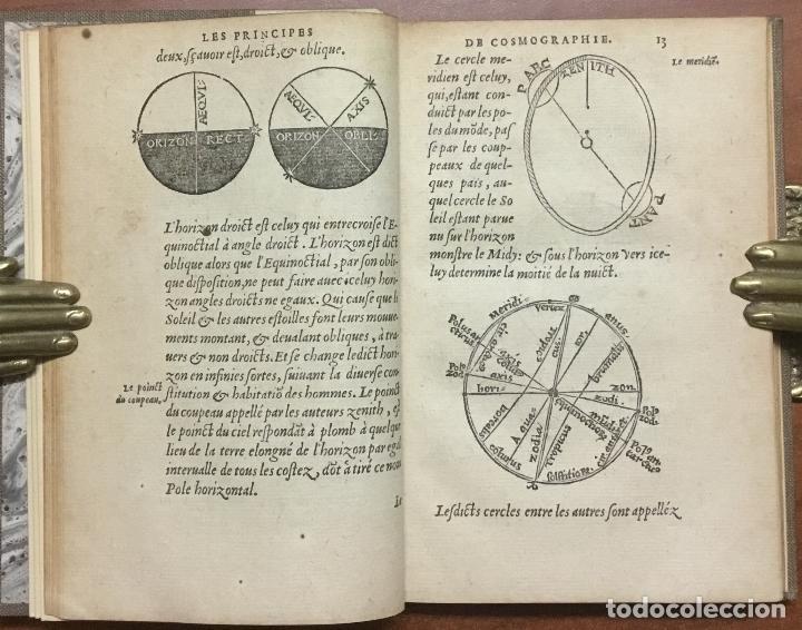 Libros antiguos: LES PRINCIPES D'ASTRONOMIE & COSMOGRAPHIE AVEC L'USAGE DU GLOBE. - GEMMA FRISIUS, Rainer. - Foto 7 - 109022603