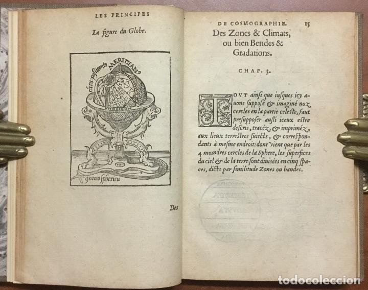 LES PRINCIPES D'ASTRONOMIE & COSMOGRAPHIE AVEC L'USAGE DU GLOBE. - GEMMA FRISIUS, RAINER. (Libros Antiguos, Raros y Curiosos - Ciencias, Manuales y Oficios - Astronomía)